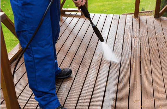 deck cleaning norfolk