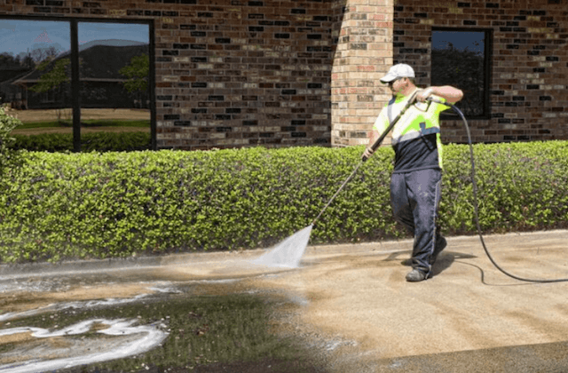 commercial concrete cleaning in norfolk